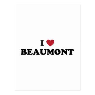 Amo a Beaumont Tejas Postal