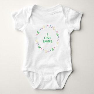 Amo a bebés body para bebé