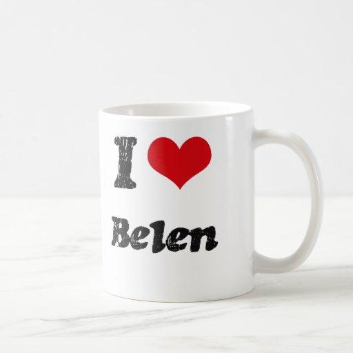 Amo a Belén Tazas De Café