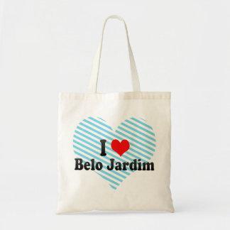 Amo a Belo Jardim, el Brasil Bolsa De Mano