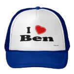 Amo a Ben Gorros Bordados