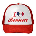 Amo a Bennett, Iowa Gorro De Camionero