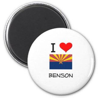 Amo a BENSON Arizona Imán Redondo 5 Cm
