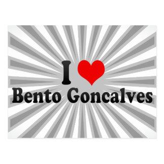 Amo a Bento Goncalves, el Brasil Tarjeta Postal