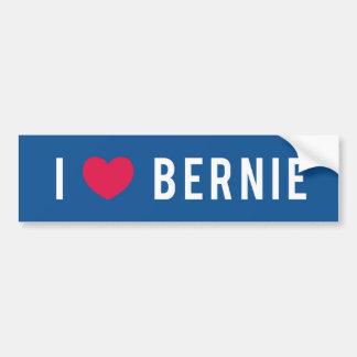 Amo a Bernie Pegatina Para Auto