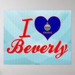 Amo a Beverly, Kansas Impresiones