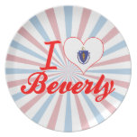 Amo a Beverly, Massachusetts Plato De Comida