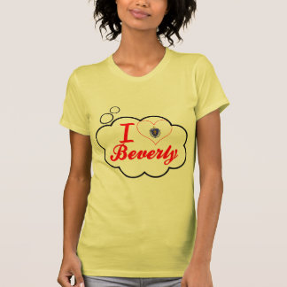 Amo a Beverly, Massachusetts Camisetas