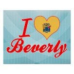 Amo a Beverly, New Jersey Impresiones