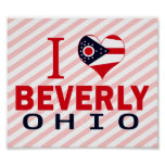 Amo a Beverly, Ohio Posters