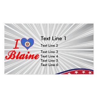 Amo a Blaine, Minnesota Tarjetas De Visita