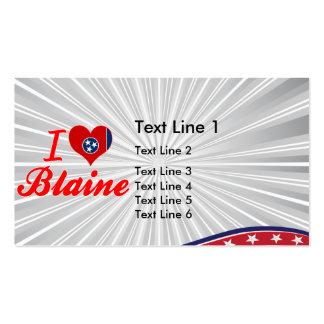 Amo a Blaine, Tennessee Tarjetas De Visita