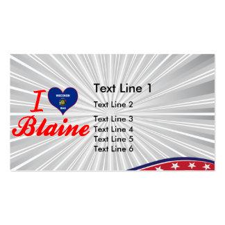 Amo a Blaine, Wisconsin Tarjetas De Visita