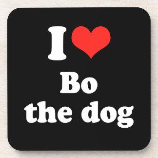AMO a BO el DOG png Posavasos De Bebida