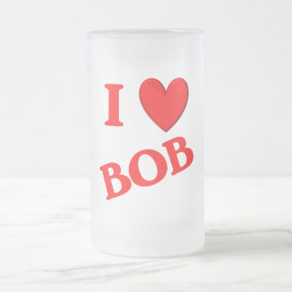 Amo a Bob Taza Cristal Mate