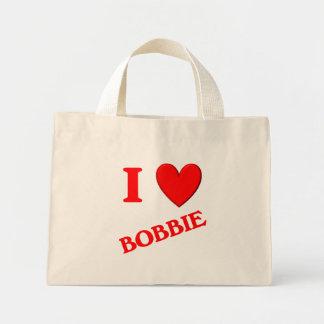 Amo a Bobbie Bolsa De Mano