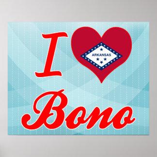 Amo a Bono Arkansas Impresiones