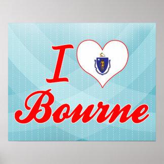 Amo a Bourne, Massachusetts Posters