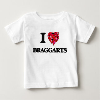 Amo a Braggarts Playera