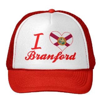 Amo a Branford, la Florida Gorro