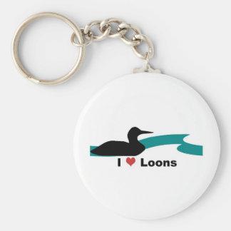 Amo a bribones llaveros personalizados