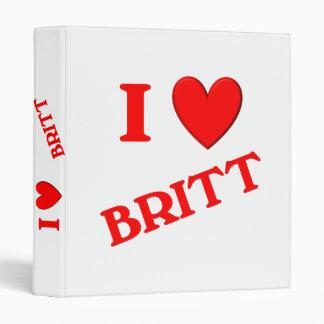 """Amo a Britt Carpeta 1"""""""