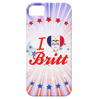 Amo a Britt, Iowa iPhone 5 Case-Mate Funda