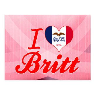 Amo a Britt, Iowa Postal