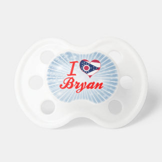 Amo a Bryan, Ohio Chupete