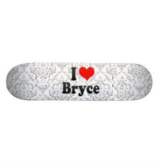 Amo a Bryce Patines Personalizados
