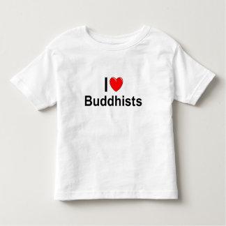 Amo a budistas (del corazón) polera
