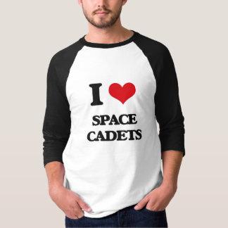 Amo a cadetes del espacio camisas
