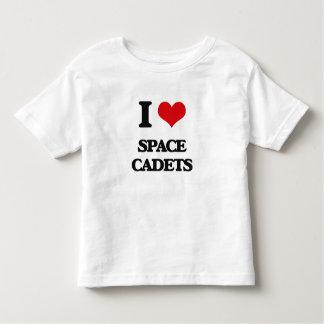 Amo a cadetes del espacio playera