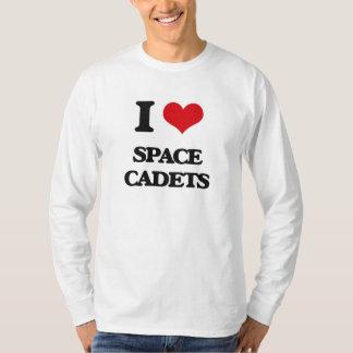 Amo a cadetes del espacio remeras