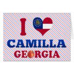 Amo a Camila, Georgia Tarjeta