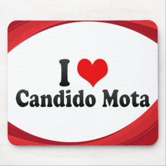 Amo a Cándido Mota, el Brasil Alfombrillas De Raton
