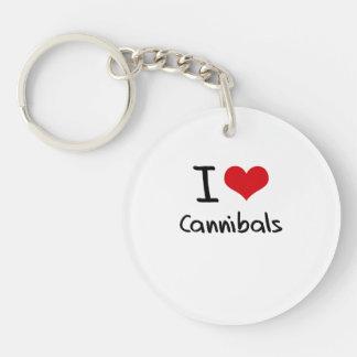 Amo a caníbales llaveros