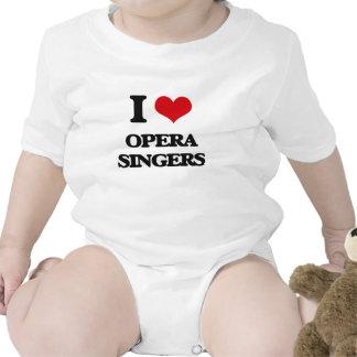 Amo a cantantes de la ópera trajes de bebé