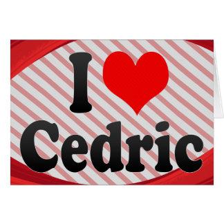 Amo a Cedric Tarjeton