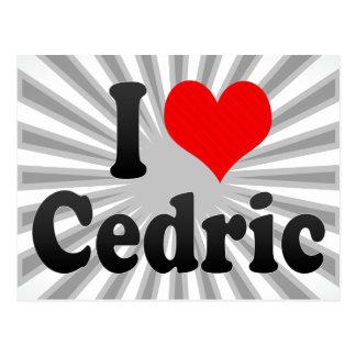 Amo a Cedric Postales