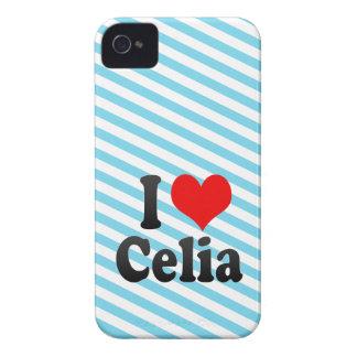Amo a Celia Case-Mate iPhone 4 Cárcasas