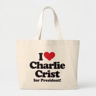 Amo a Charlie Crist para el presidente Bolsa De Mano