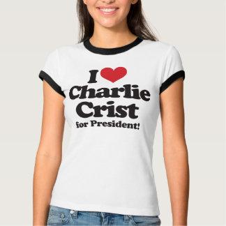 Amo a Charlie Crist para el presidente Remeras