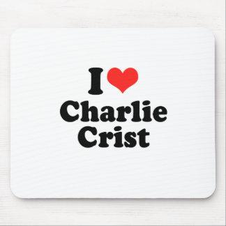 Amo a Charlie Crist Alfombrilla De Ratones