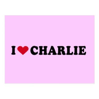 AMO A CHARLIE POSTAL