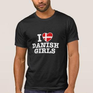 Amo a chicas daneses camisas