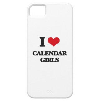 Amo a chicas del calendario iPhone 5 Case-Mate carcasa