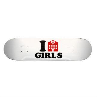 Amo a chicas del hotel tabla de patinar