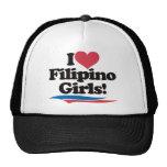 Amo a chicas filipinos gorras