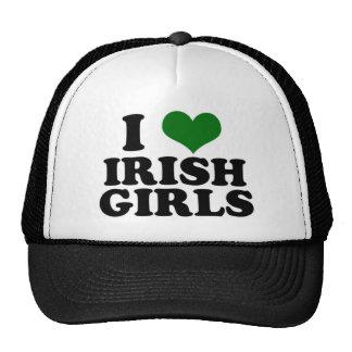 Amo a chicas irlandeses gorra